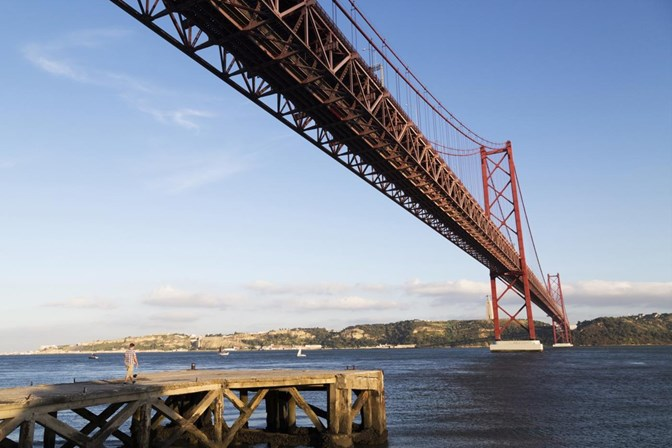 Início das obras na ponte 25 de Abril está