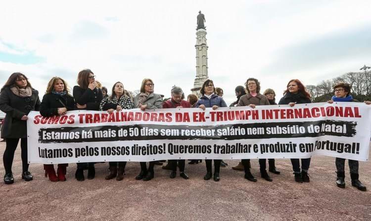 Entidades já estão no terreno para apoiar trabalhadoras da antiga Triumph