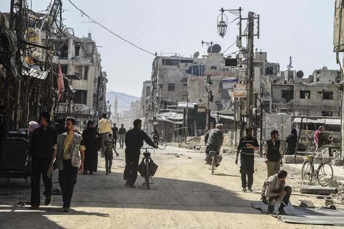 Inspetores de armas químicas já conseguiram entrar em Douma