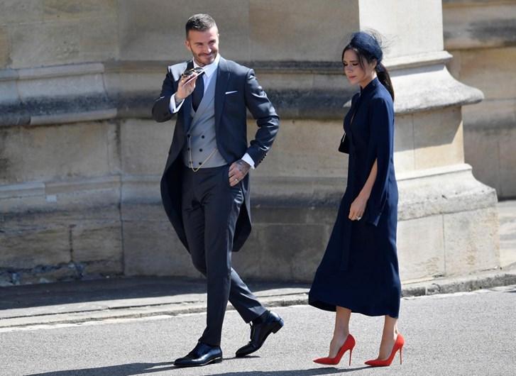 David Beckham ofusca os restantes convidados famosos do ...