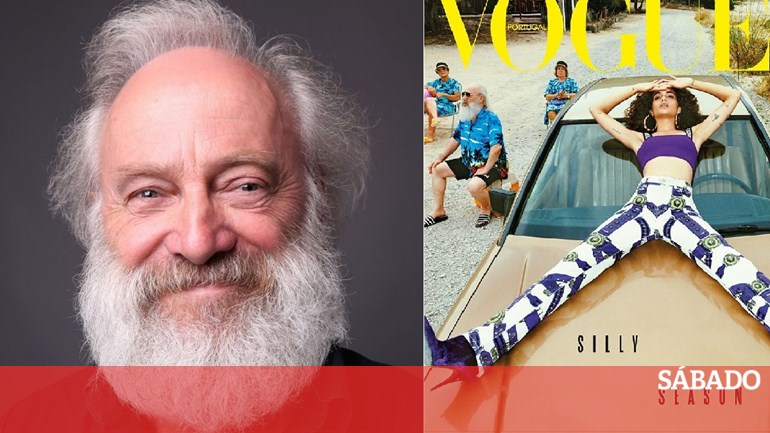 5f15d2c9b Sem-abrigo português descoberto no Colombo faz capa da Vogue - Vida - SÁBADO
