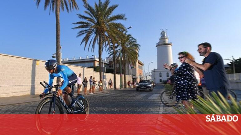 1c91d020aa0 Nelson Oliveira muito perto do pódio no arranque da  Vuelta  - Desporto -  SÁBADO