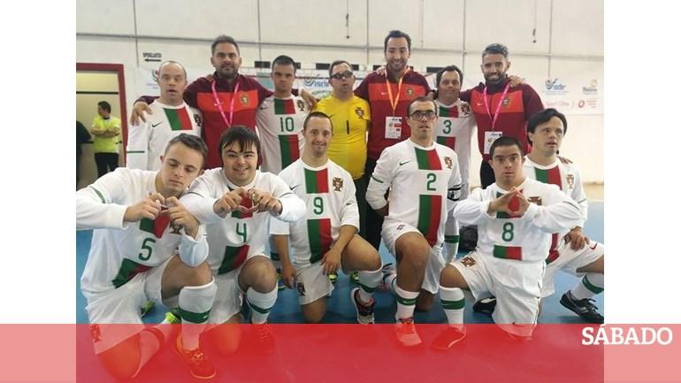 Portugal é campeão europeu de futsal para atletas com síndrome de Down -  Desporto - SÁBADO d528502410de5