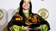 Grammys: Billie Eilish domina e vence as principais quatro categorias